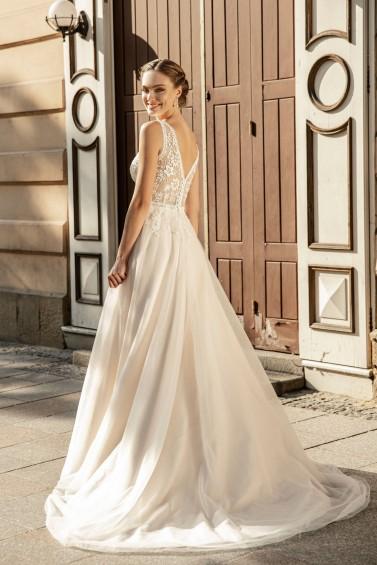 suknia ślubna TO-1268T tył