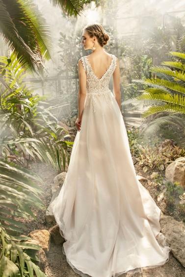 suknia ślubna TO-1269T tył