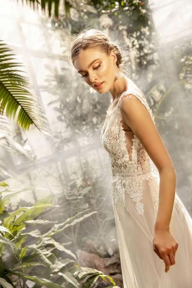 suknia ślubna TO-1269T zbliżenie