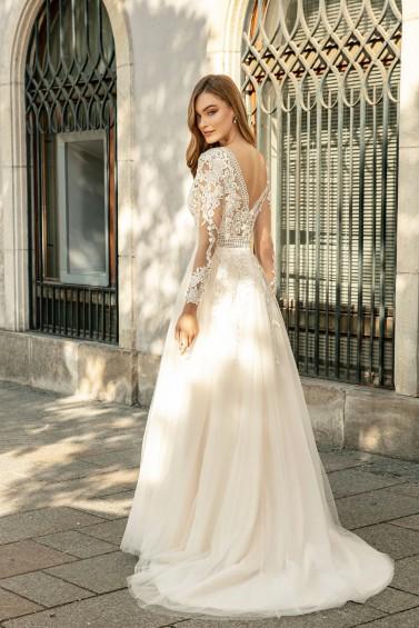suknia ślubna TO-1271T tył