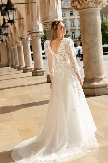 suknia ślubna TO-1272T tył