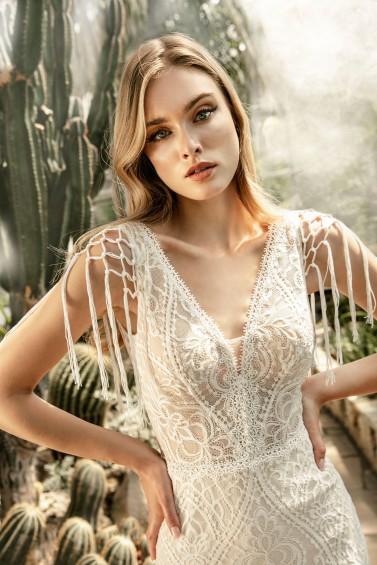 suknia ślubna TO-1273T zbliżenie