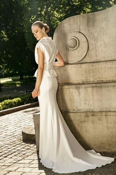 suknia ślubna TO-1276T tył