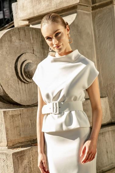 suknia ślubna TO-1276T zbliżenie
