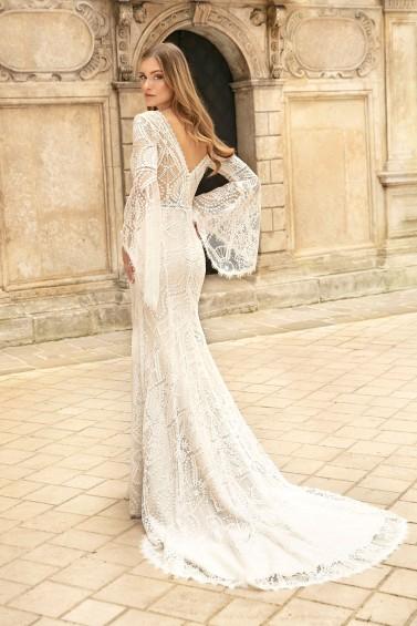 suknia ślubna TO-1278T tył