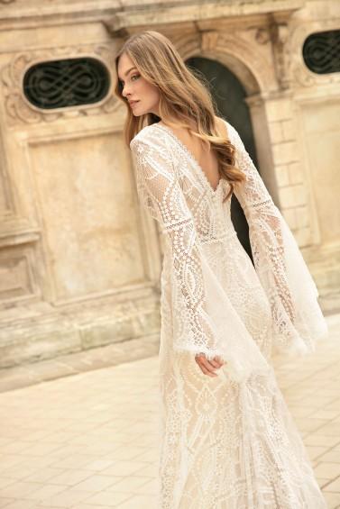 suknia ślubna TO-1278T zbliżenie
