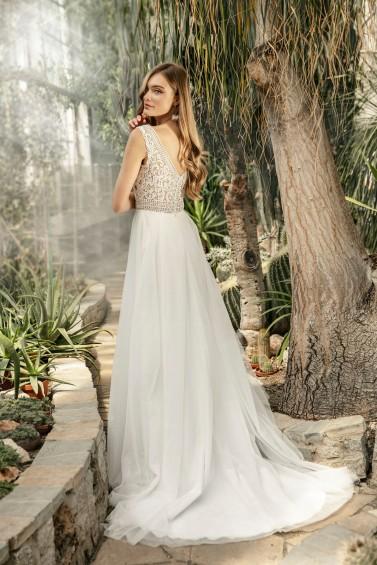 suknia ślubna TO-1281T tył