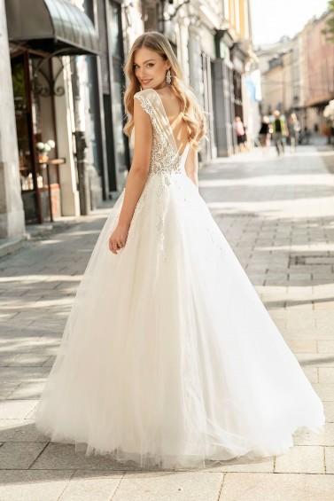 suknia ślubna TO-1284 tył