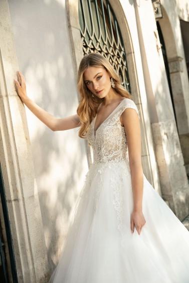 suknia ślubna TO-1284 zbliżenie