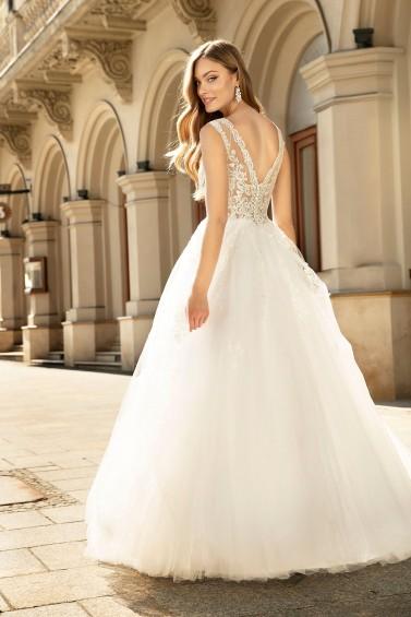 suknia ślubna TO-1285 tył