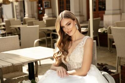 suknia ślubna TO-1285 zbliżenie
