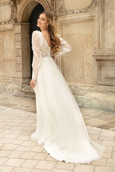 suknia ślubna TO-1286T tył