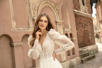 suknia ślubna TO-1286T zbliżenie