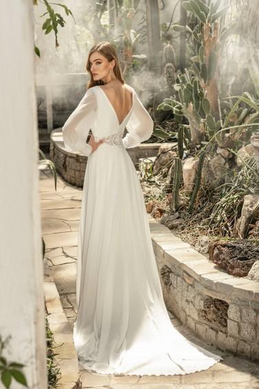 suknia ślubna TO-1288T tył