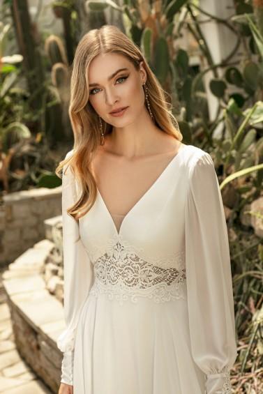 suknia ślubna TO-1288T zbliżenie