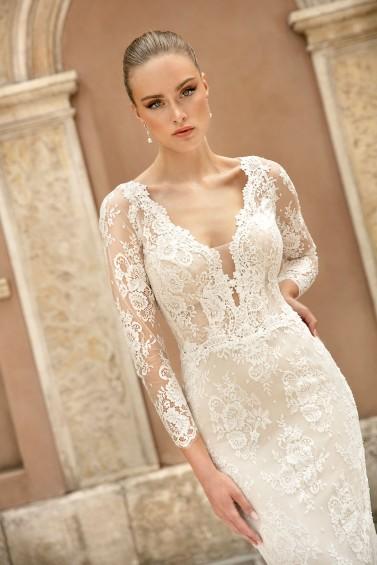 suknia ślubna TO-1294T zbliżenie
