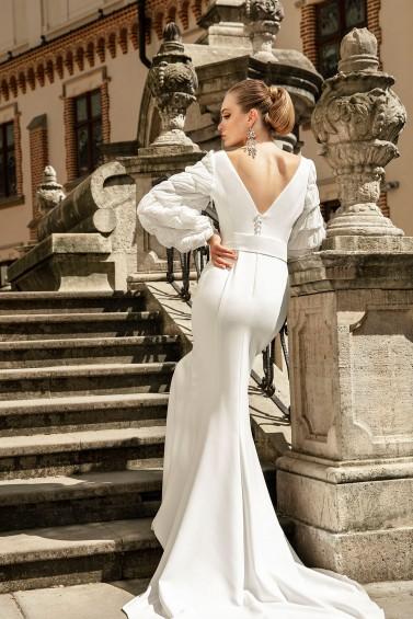 suknia ślubna TO-1296T tył