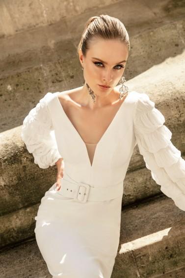 suknia ślubna TO-1296T zbliżenie
