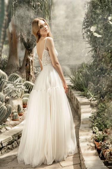 suknia ślubna TO-1298T tył