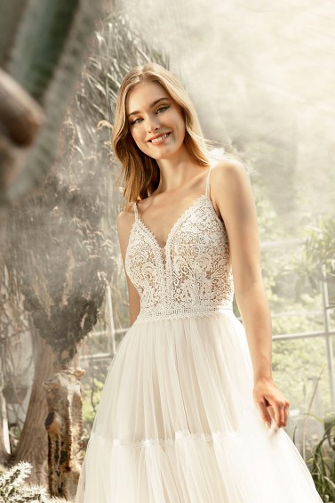 suknia ślubna TO-1298T zbliżenie
