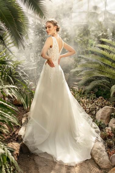 suknia ślubna TO-1304T tył