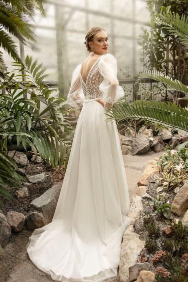 suknia ślubna TO-1305T tył