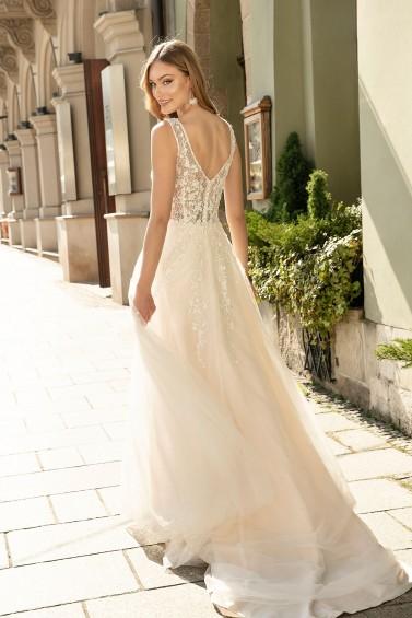 suknia ślubna TO-1306T tył