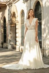 suknia ślubna TO-1307T przód