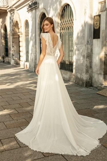 suknia ślubna TO-1307T tył
