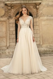 suknia ślubna TO-1308T przód