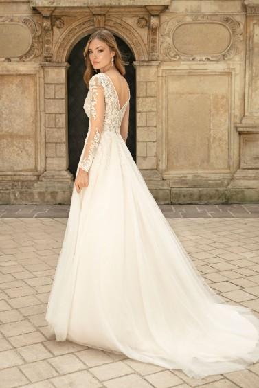 suknia ślubna TO-1308T tył