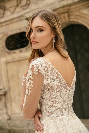 suknia ślubna TO-1308T zbliżenie