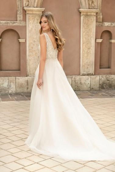 suknia ślubna TO-1310T tył