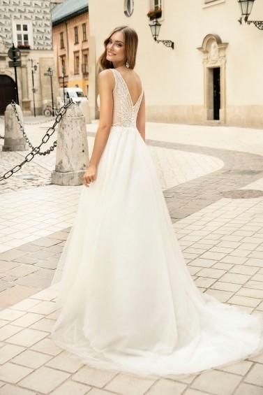 suknia ślubna TO-1314T tył