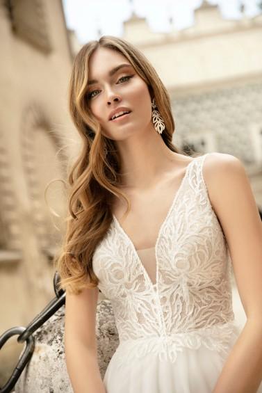 suknia ślubna TO-1314T zbliżenie