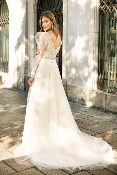 suknia ślubna TO-1317T tył