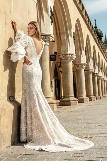 suknia ślubna TO-1318T tył