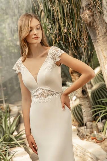 suknia ślubna TO-1319T zbliżenie