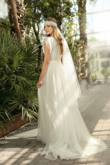 suknia ślubna TO-1327T tył