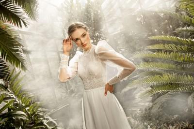 suknia ślubna TO-1328T zbliżenie
