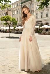 suknia ślubna TO-1331 przód