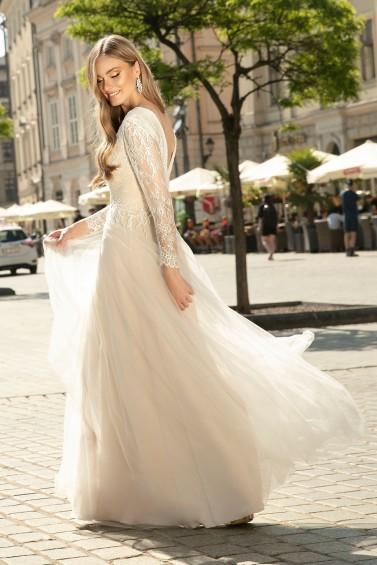 suknia ślubna TO-1331 tył