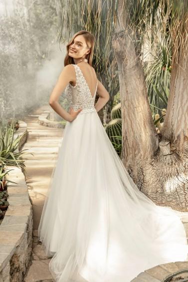 suknia ślubna TO-1332T tył