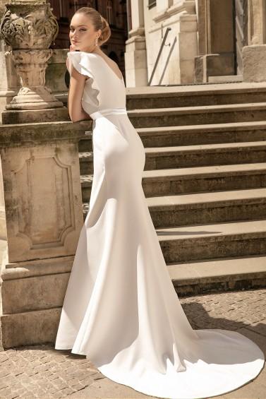 suknia ślubna TO-1334T tył