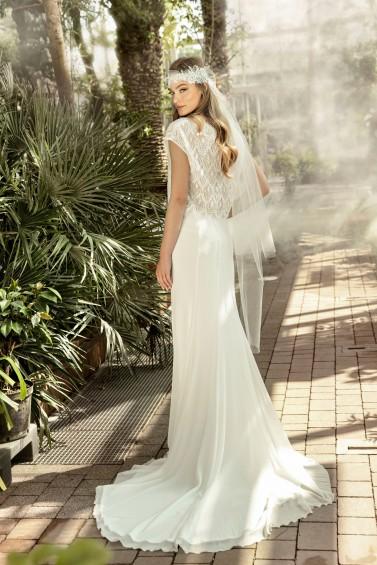 suknia ślubna TO-1335T tył