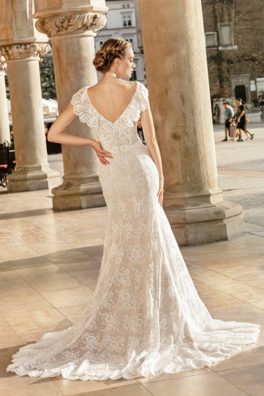 suknia ślubna TO-1337T tył