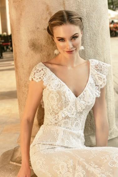 suknia ślubna TO-1337T zbliżenie