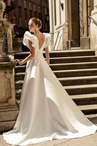 suknia ślubna TO-1339T tył