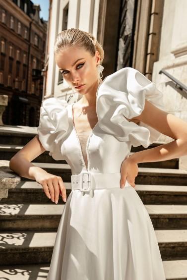 suknia ślubna TO-1339T zbliżenie