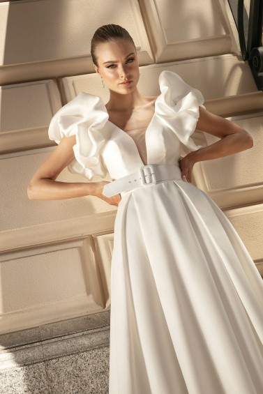 suknia ślubna TO-1341 zbliżenie